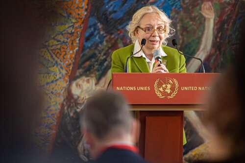 Interview with UNOG Director-General Tatiana Valovaya on the Current Pandemic Focus on International matters