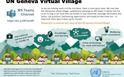 L'ONU Genève oeuvre pour le bien-être de son personnel