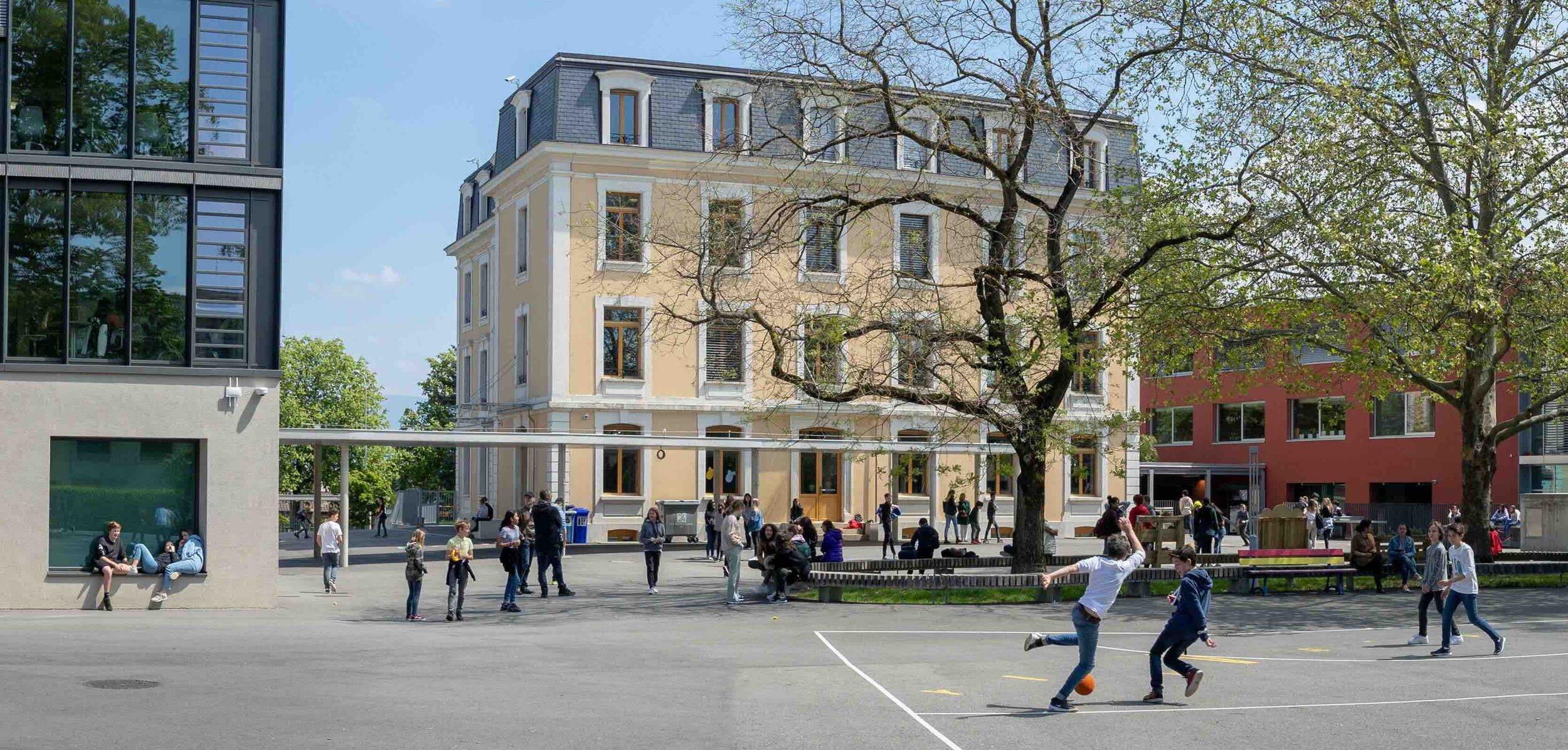 Campus of the Institut International de Lancy © IIL