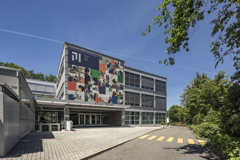 École Moser in Geneva. © AURÉLIEN BERGOT