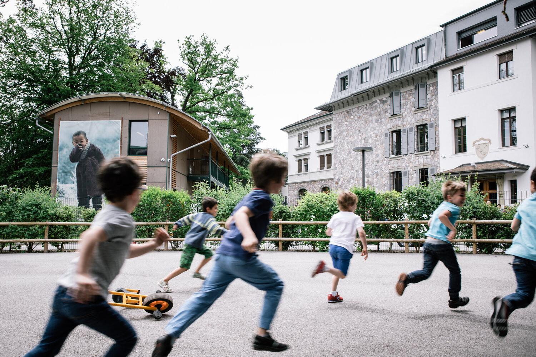 Pupils in primary kindergarten © INSTITUT FLORIMONT
