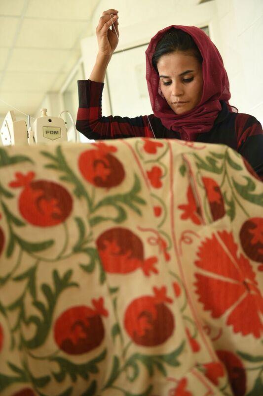 EFI Tailoring Partners in Kabul, Afghanistan. © Farzana Wahidy