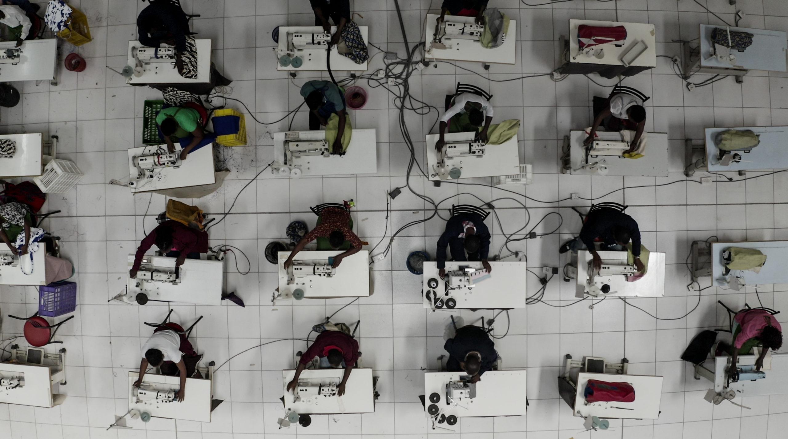 Factory Shot ©ITC - Ethical Fashion Artisans Ltd-Ethical Fashion Initiative