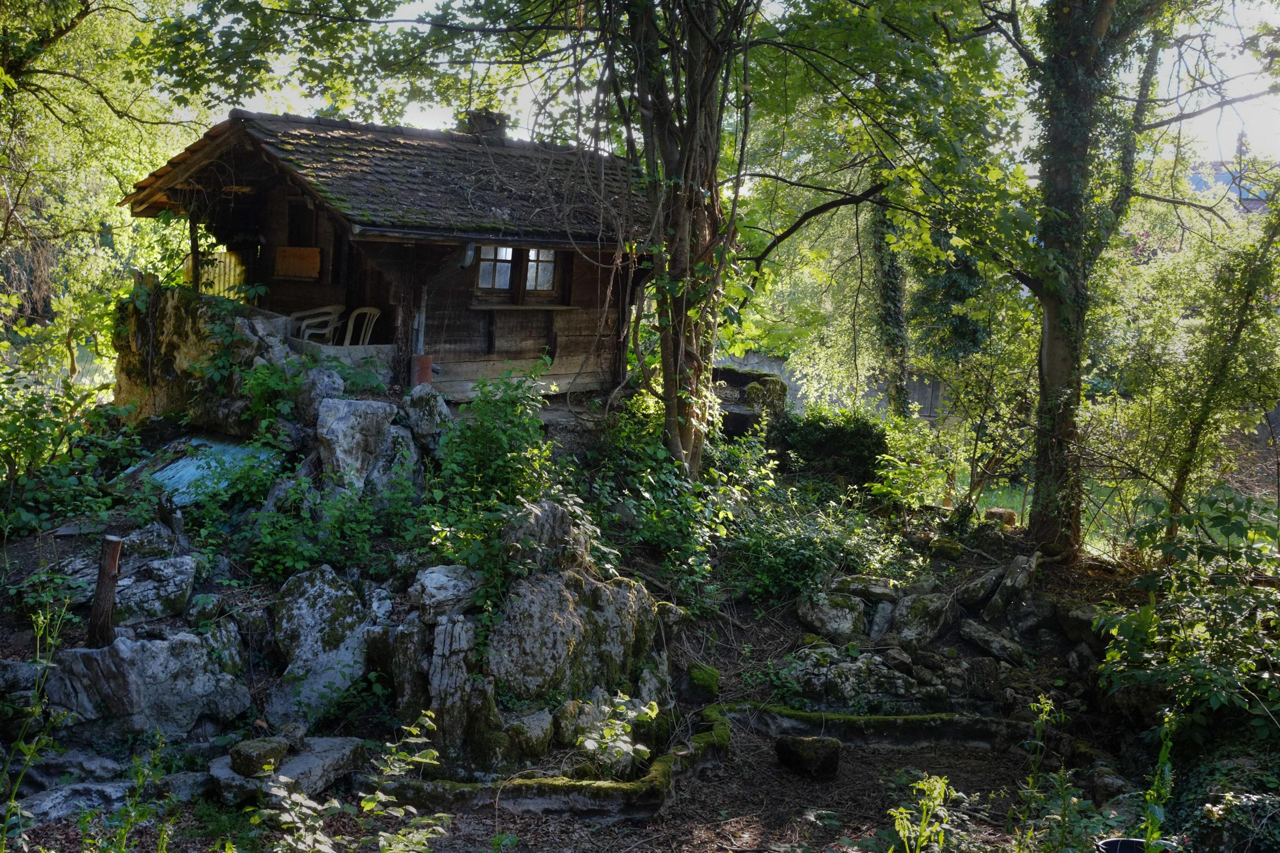 La cabane mystérieuse