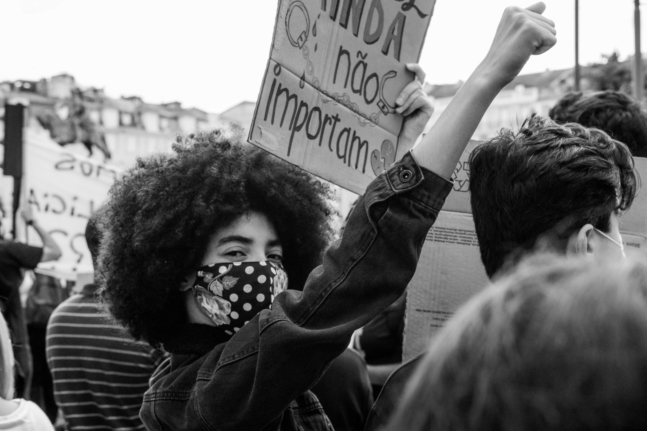 Alex Paganelli, Black lives Matter Protest, Lisbon, 6 June 2020