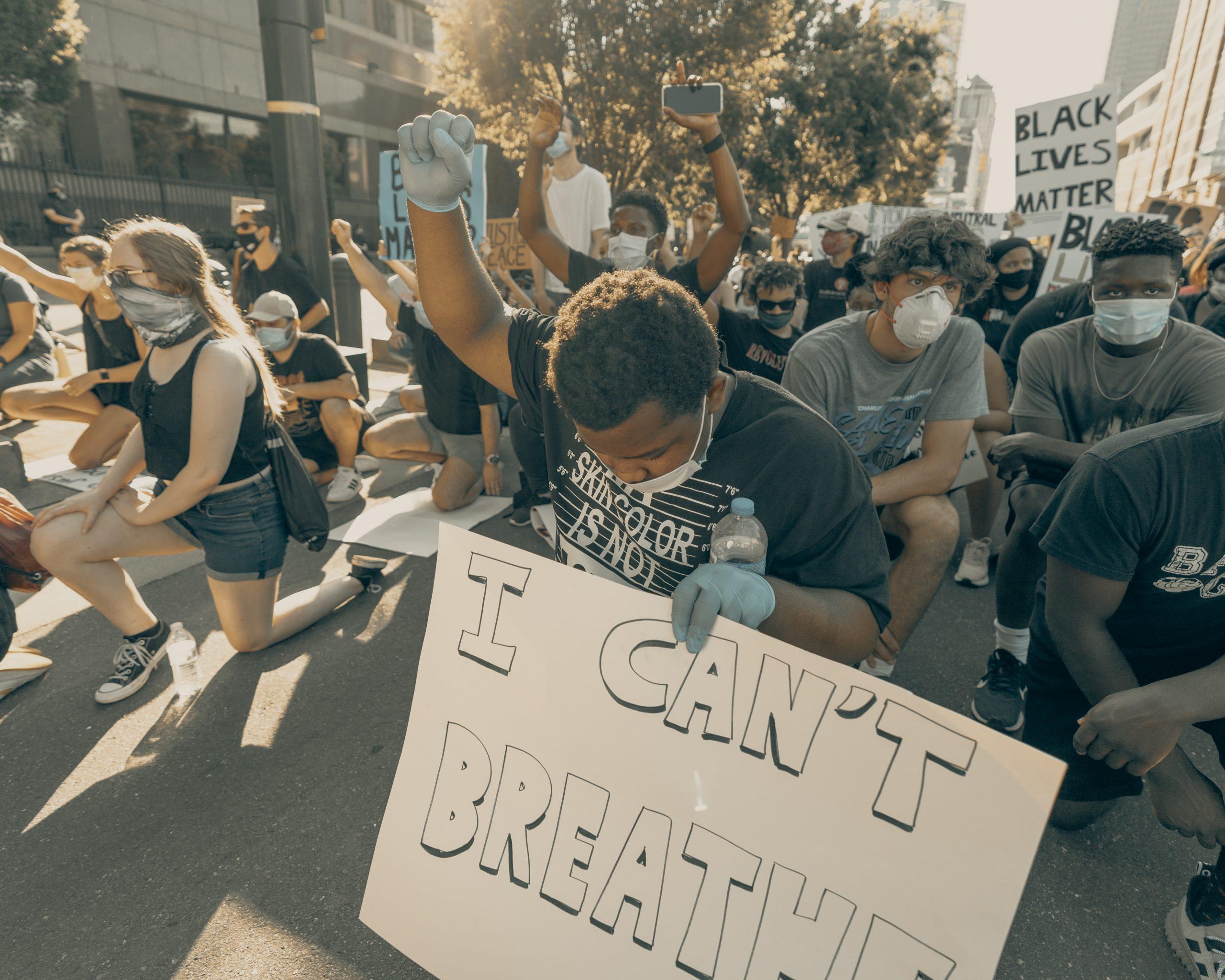 Clay banks, Protests in North Carolina