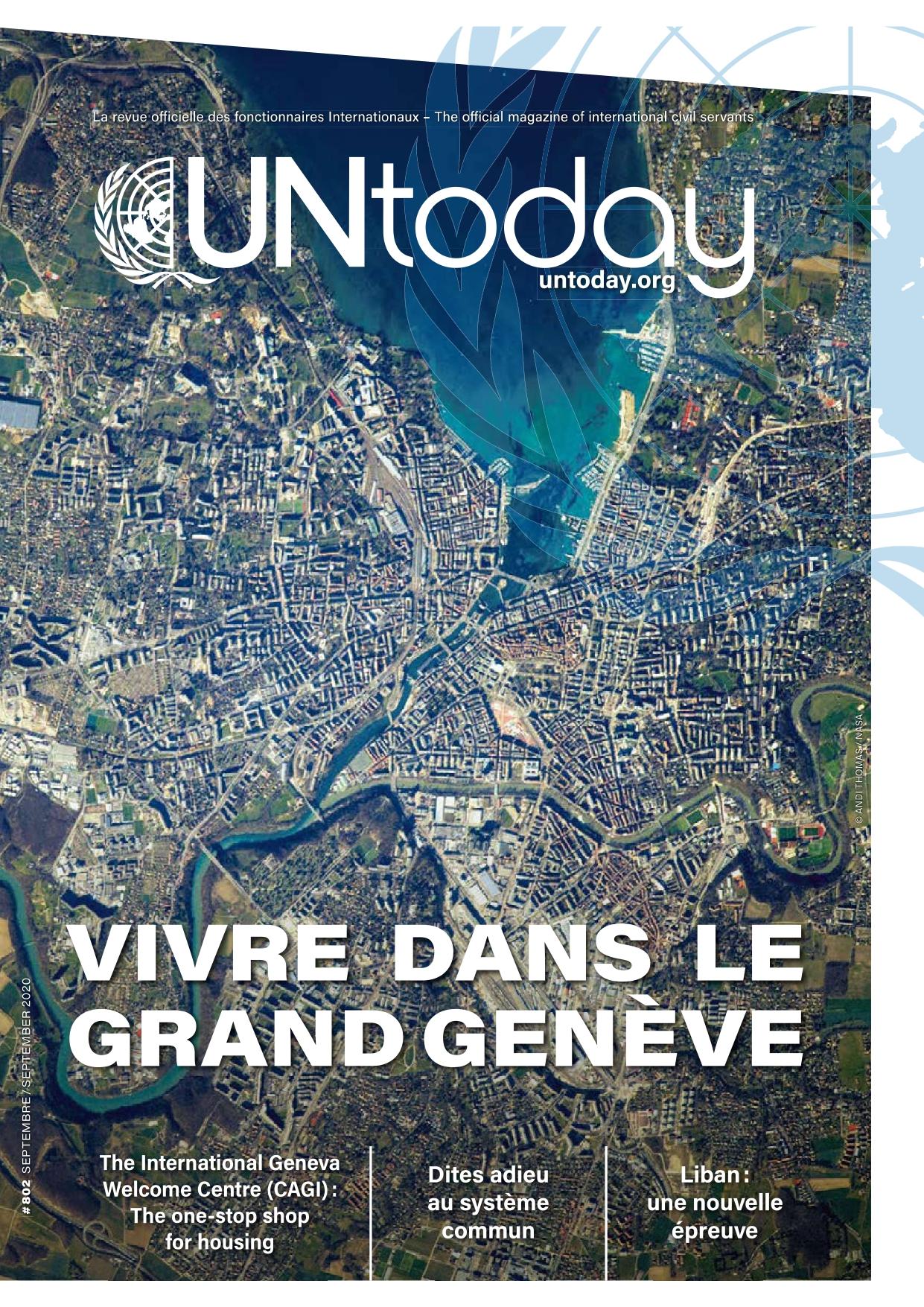UN Today cover September 2020