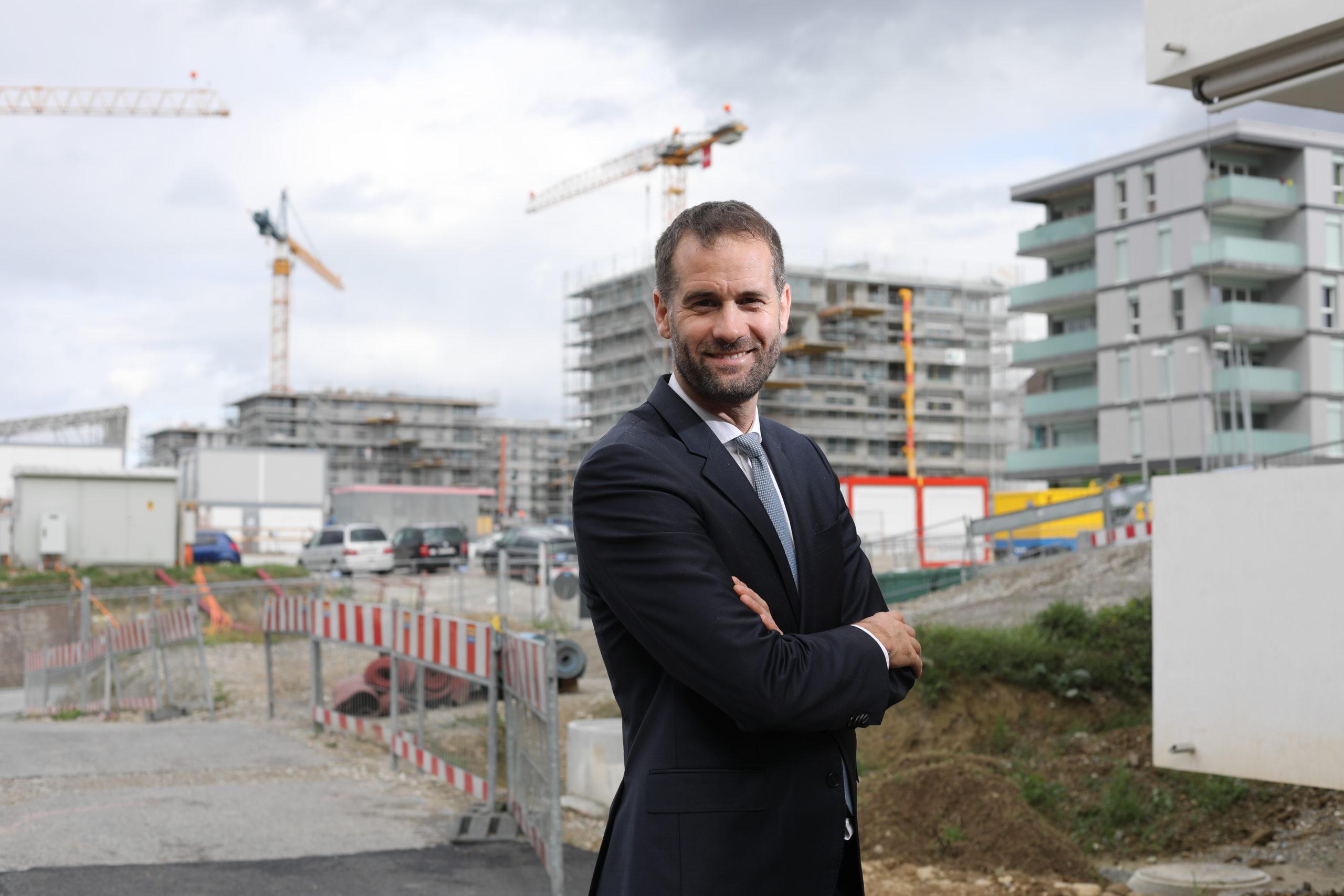 Antonio Hodgers, Président du Conseil d'État de Genève © Steeve Luncker
