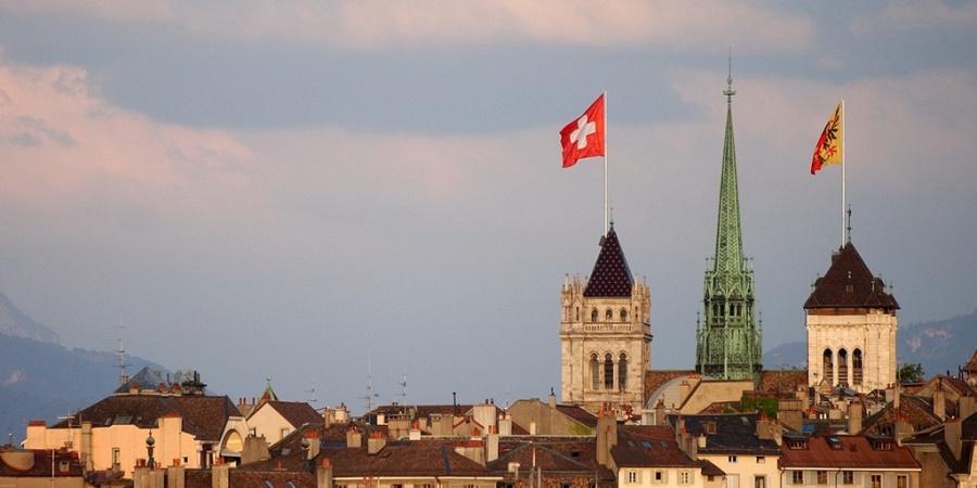 Vue sur la vieille ville de Genève. ©État Genève