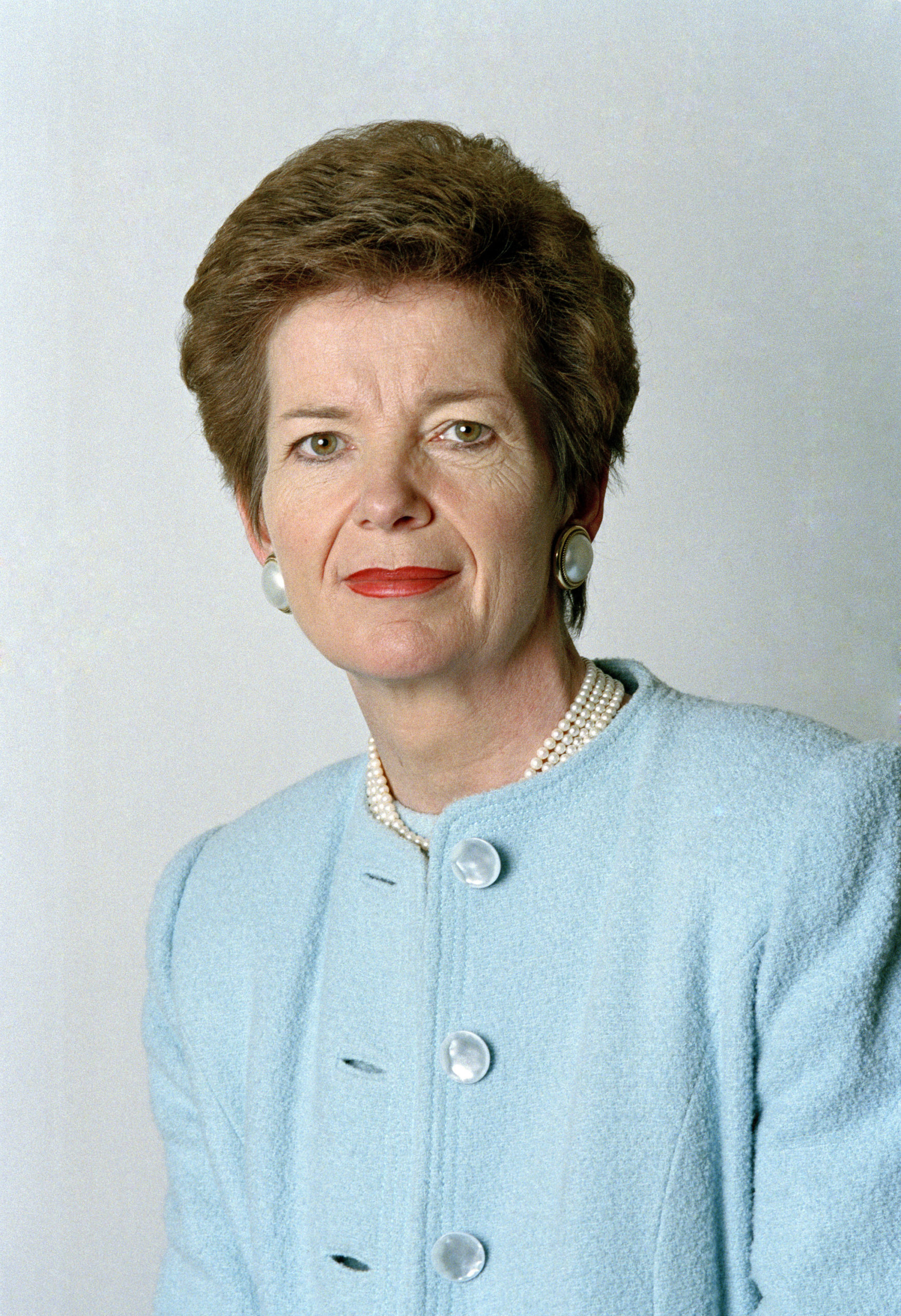 Mary Robinson, Commissaire aux Nations Unies pour les Droits de l'Homme, de 1997 à 2002. © UN PHOTO / EVAN SCHNEIDER