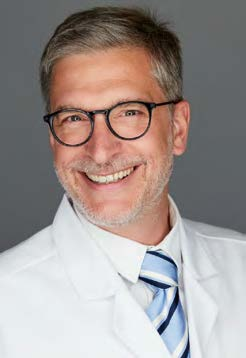 Pr. Oscar Matzinger, FMH Specialist in Radio‑oncology at Clinique de Genolier.