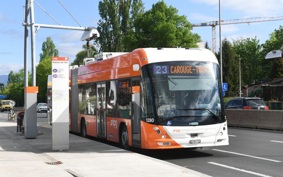 Geneva's public transportation in a pandemic world