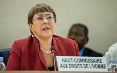 Michelle Bachelet on her motivations, achievements and human rights during Covid