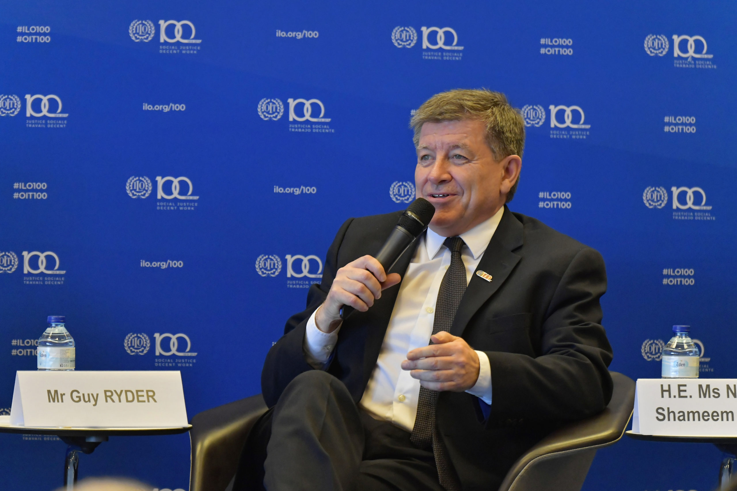 Guy Ryder, Director-General of the International Labour Organization © Copyright ILO- Crozet M