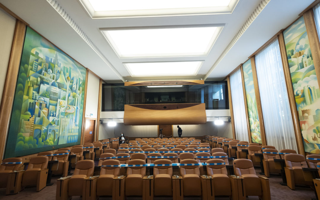 Would you want to work in the UN of the future?