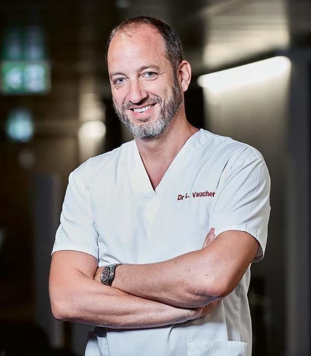 Dr Laurent Vaucher, FMH Specialist in Urology.