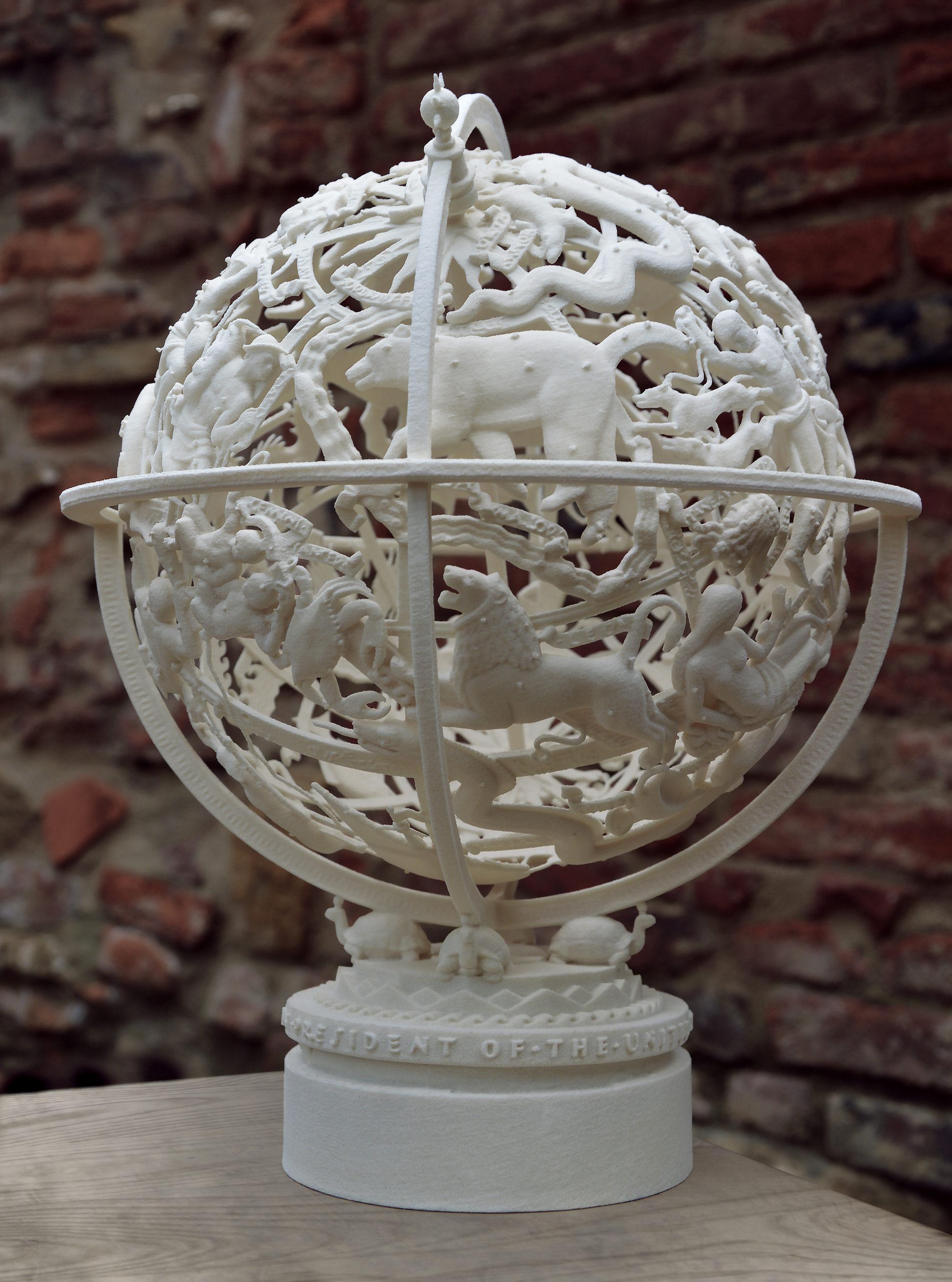 3D model of the Sphere.© DIMENSIO