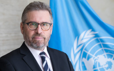 David Mc Cuaig, Director of the Strategic Heritage Plan (SHP), UNOG