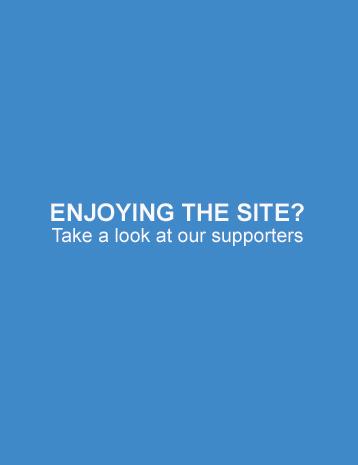 Enjoying the site?