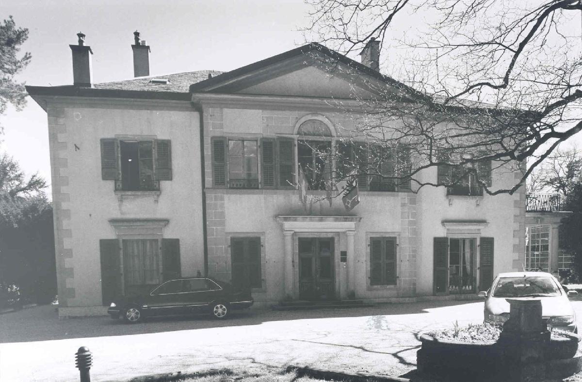 La maison de maître avant.