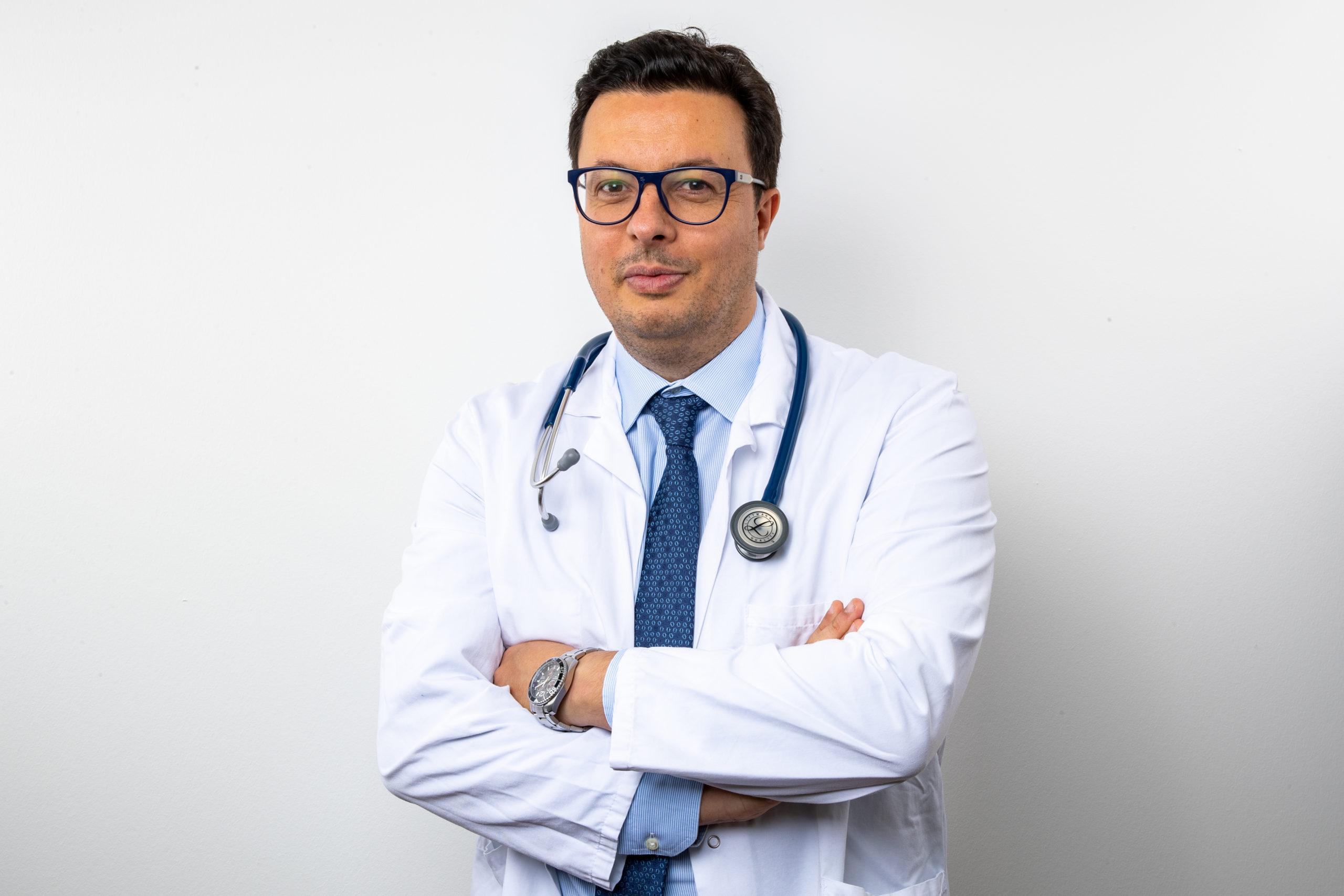 Dr. S. Lahzami, specialist in respiratory medicine at Clinique de Genolier