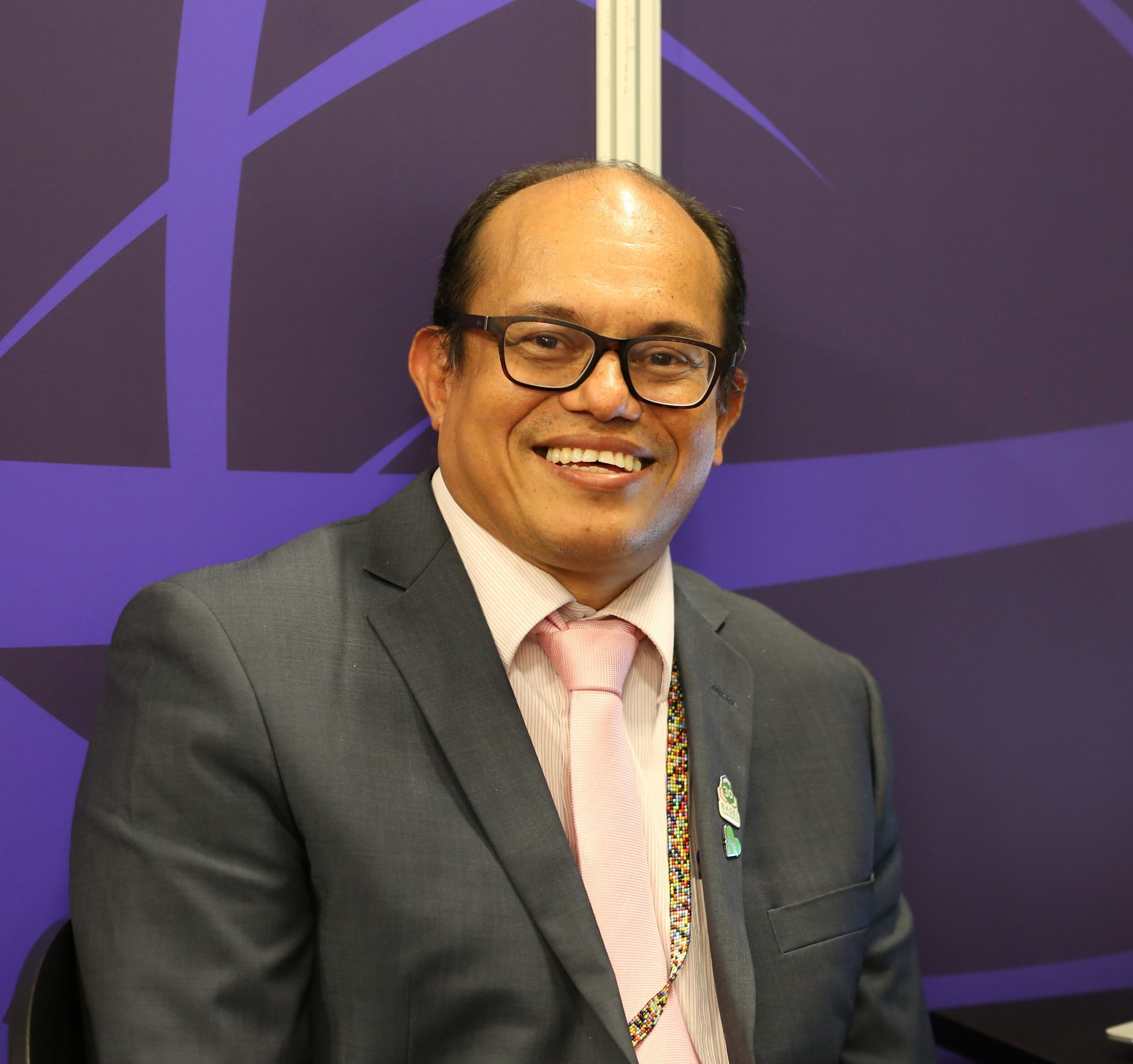 Rolph Payet, Executive Secretary of BRS Conventions (The Secretariats of the Basel and Stockholm conventions).