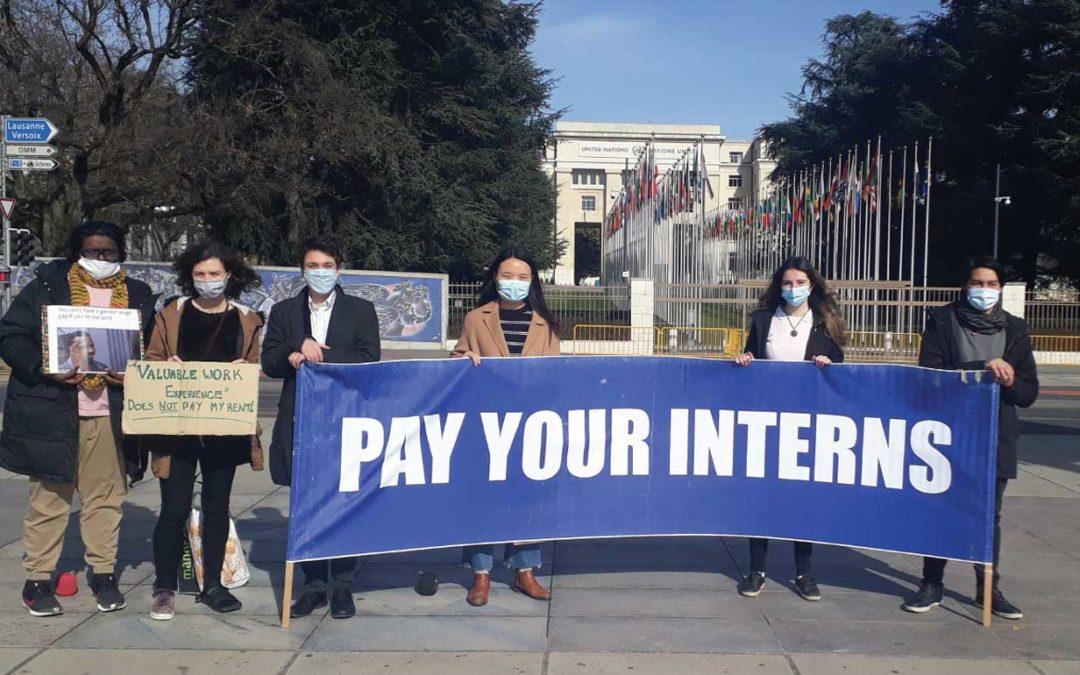 Zoom won't make UN internships fair, stipends will
