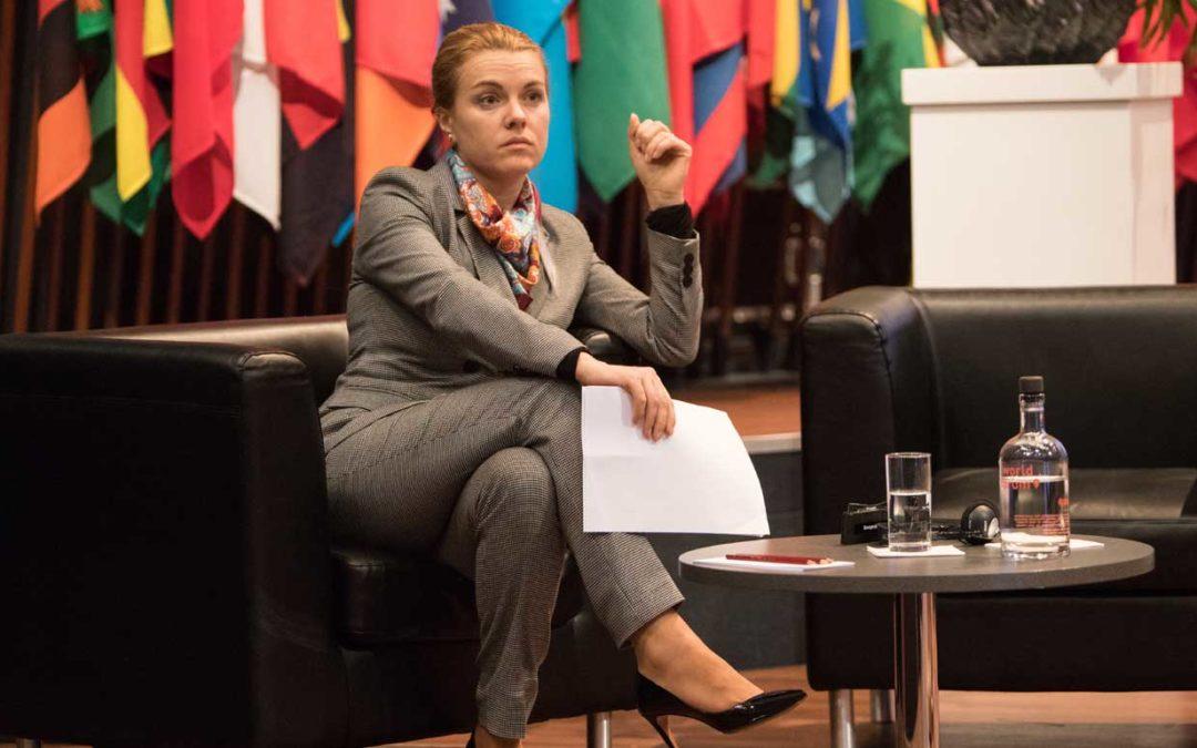 Meet Tatiana Molcean, Moldova's multi-tasking ambassador